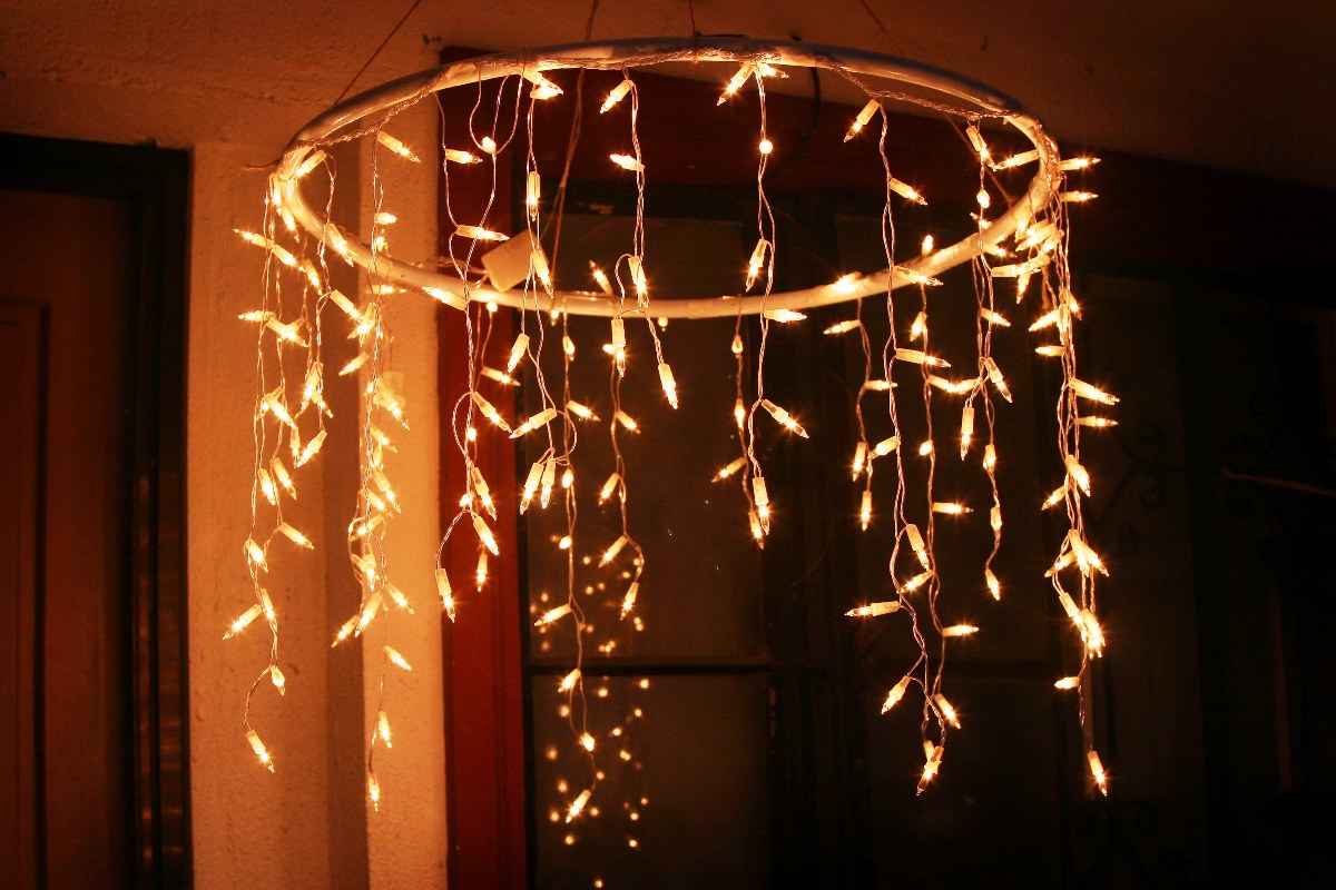 4 - Christmas Lights Indoor Decorating Ideas