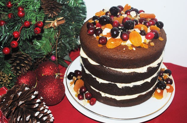 7(Gingerbread-cake with butter cream)