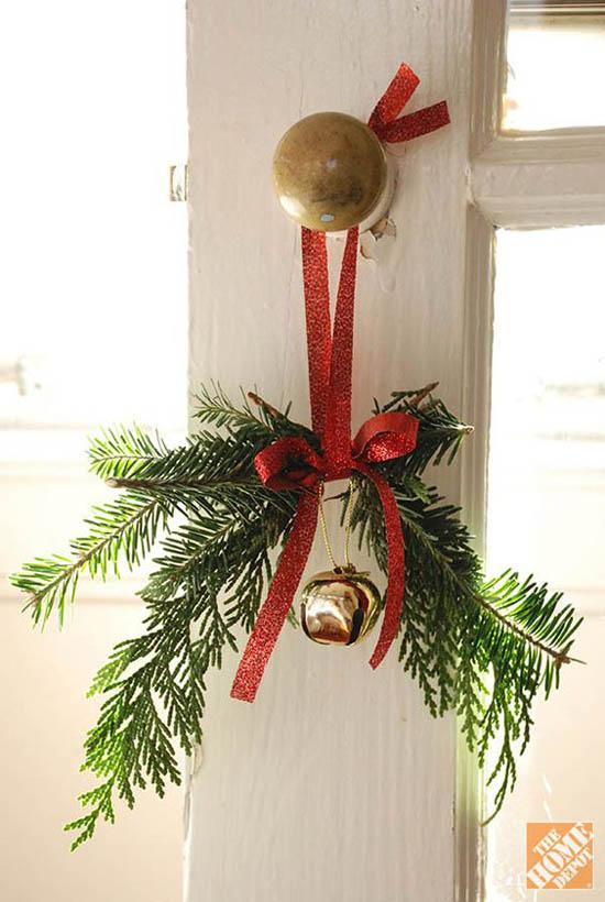 Christmas Door Knob Decorations