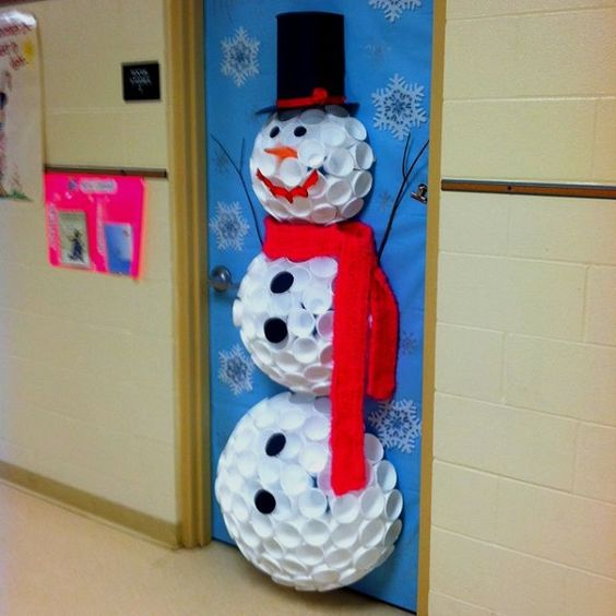 christmas door decorations pinterest 18 - Pinterest Christmas Door Decorations