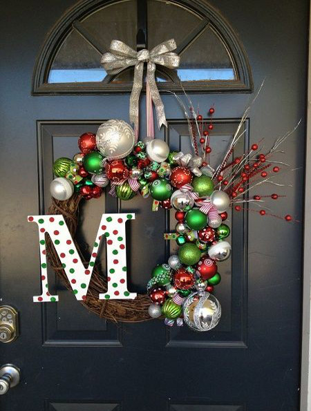 christmas door decorations pinterest 3 - Pinterest Christmas Door Decorations