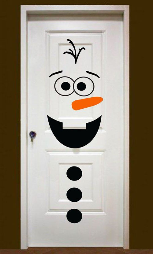 christmas door decorations pinterest 5