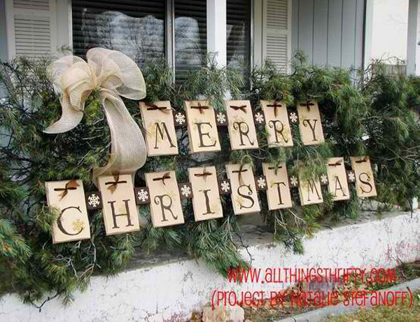 christmas outdoor decorations pinterest 3 - Christmas Decorations Outdoor Pinterest