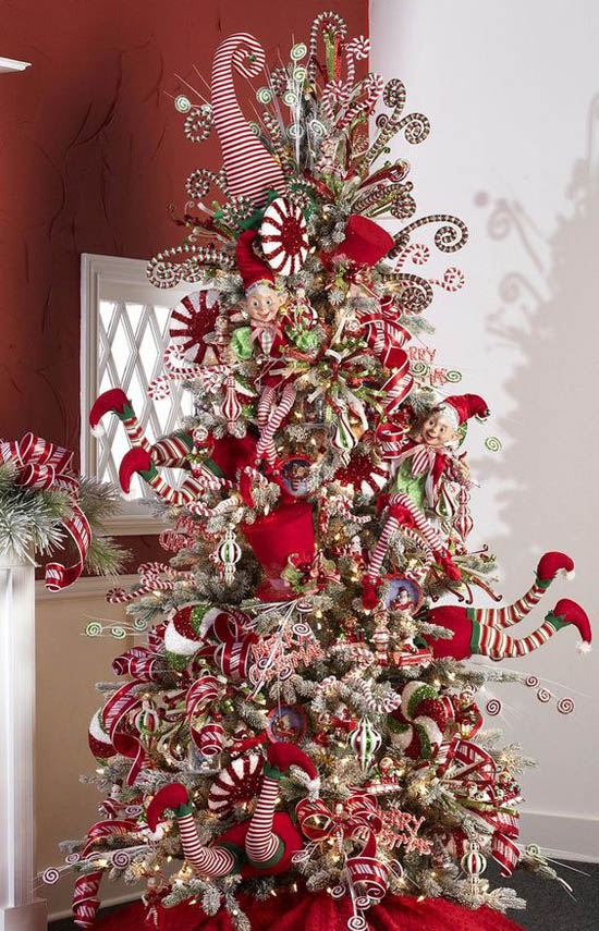 christmas home decor pinterest 40 most loved christmas tree decorating ideas on 10582