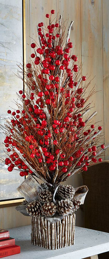 christmas tree pinterest 32 - Christmas Tree Branch Decorations