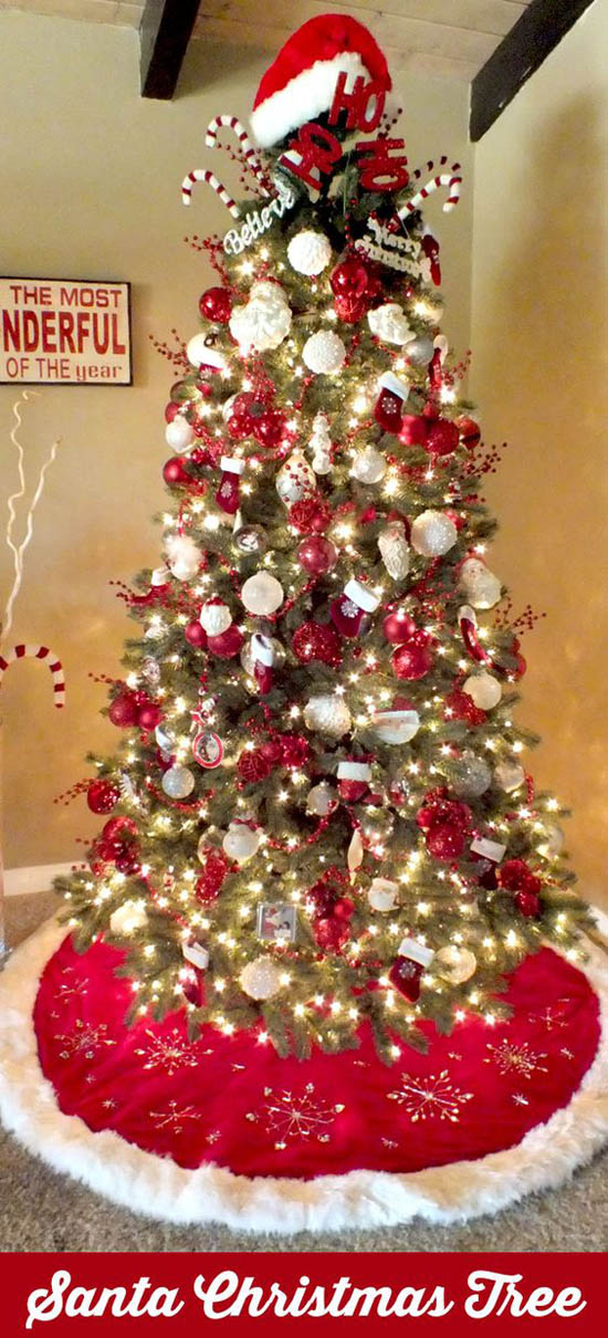 40 most loved christmas tree decorating ideas on pinterest How do you decorate a christmas tree