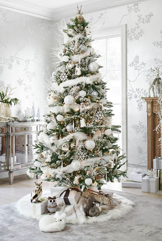 Christmas Tree Decorated.40 Most Loved Christmas Tree Decorating Ideas On Pinterest