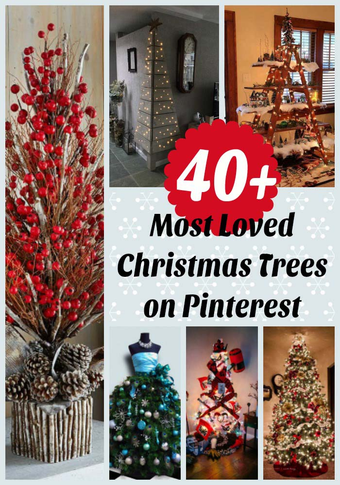 40 most loved christmas tree decorating ideas on pinterest