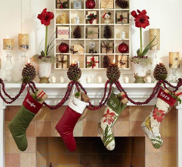 elegant christmas decorating ideas 13 - Elegant Christmas Stockings