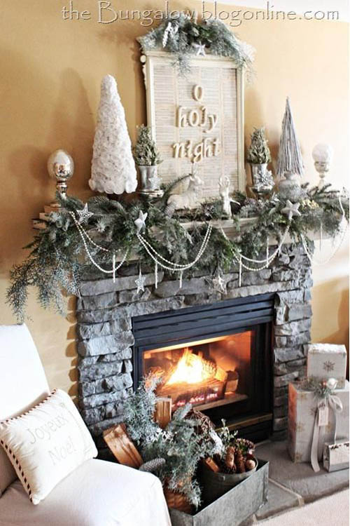 elegant christmas decorating ideas 23 - Elegant White Christmas Decorations