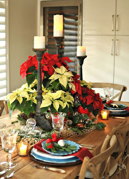 40 elegant christmas decorating ideas and inspirations table centerpieces christmas centerpiece for christmas dining table
