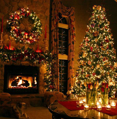Classic Holiday Spirit. elegant-christmas-decorating-ideas-38