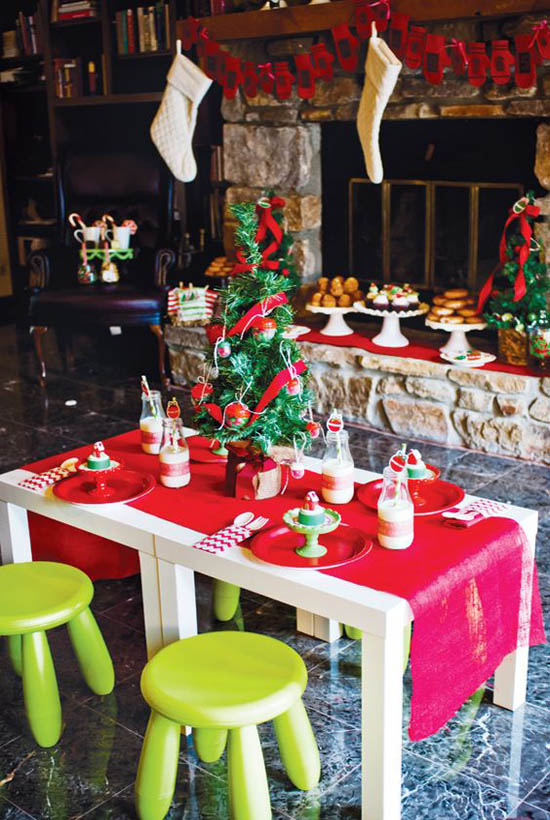 twas the night before christmas kids brunch elegant christmas decorating ideas 4 - Twas The Night Before Christmas Decorating Ideas