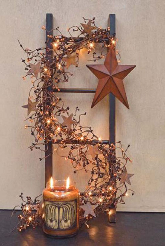 Genial Rustic Christmas Decorations Pinterest 10