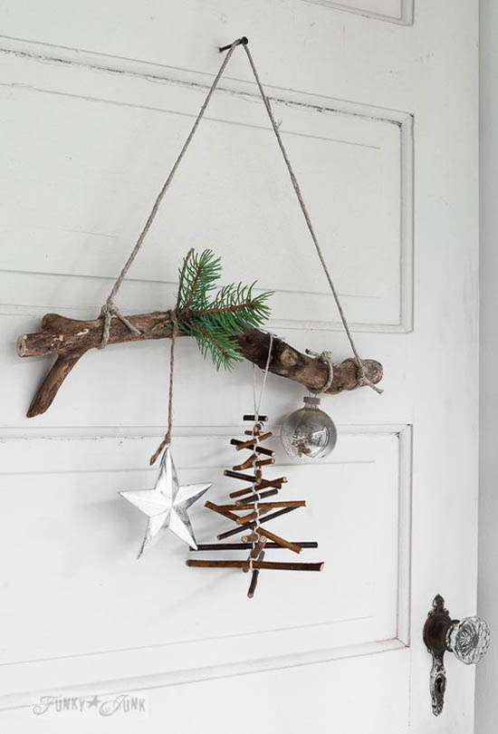 rustic christmas decorations pinterest 18