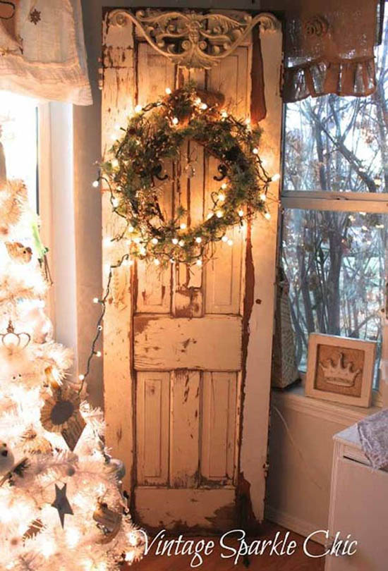 rustic christmas decorations pinterest 21 - Vintage Rustic Christmas Decorations