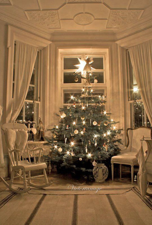 Superbe Victorian Christmas Decorating Ideas 11