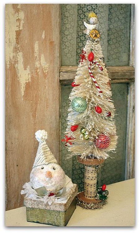 Victorian Christmas Tree Decorations To Make