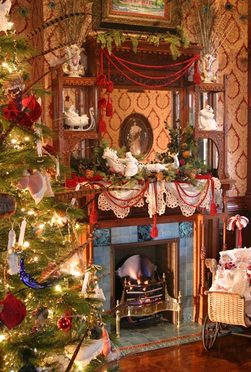 Merveilleux Victorian Christmas Decorating Ideas 26