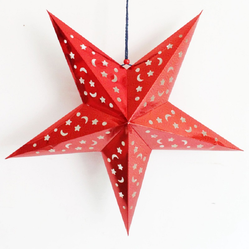 1 - Christmas Star Decorations