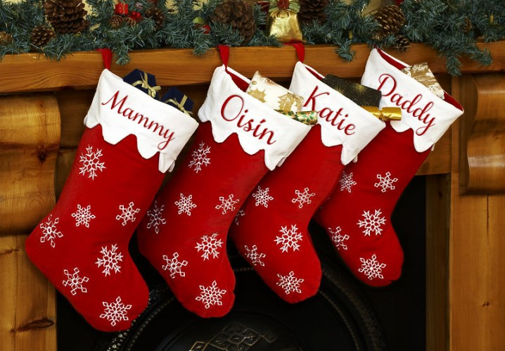 1 - Christmas Stocking Decorating Ideas