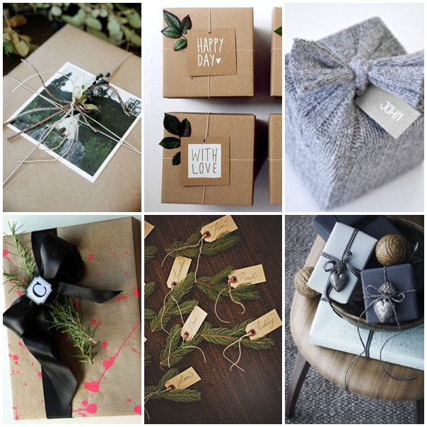 Pinterest gift wrapping ideas christmas