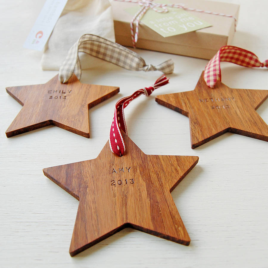 13 - Christmas Star Decorations