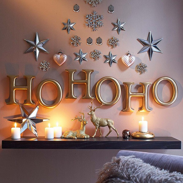 15 & 40 Easy Homemade Christmas Decoration Ideas - All About Christmas
