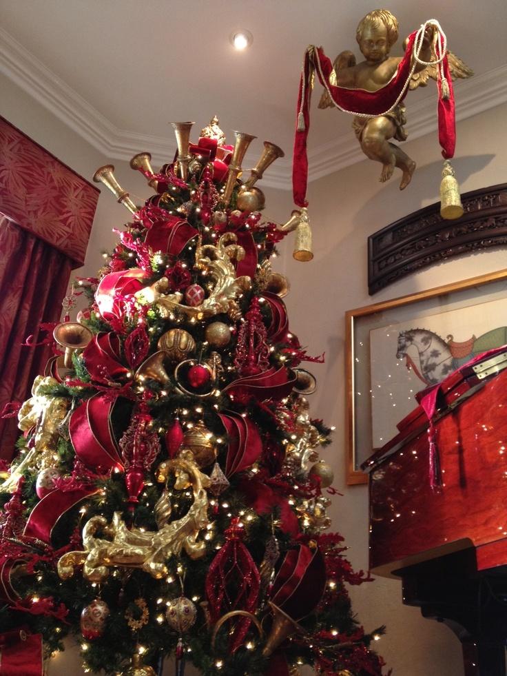 Professionally Decorated Christmas Tree