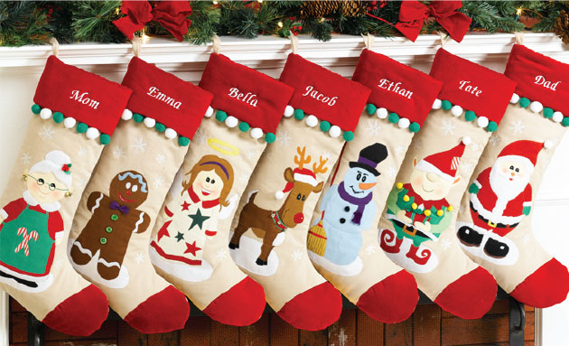 2 - Christmas Socks Decoration