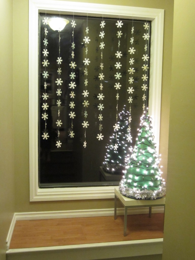 Indoor window christmas decorations - 24