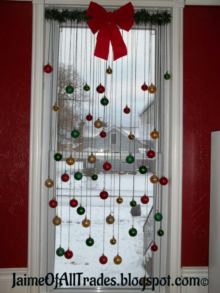 Christmas window painting decorations - 25
