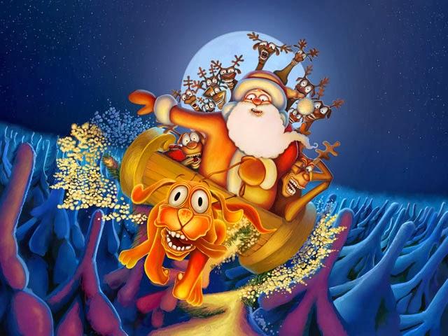 4 - Christmas Screensavers Animated