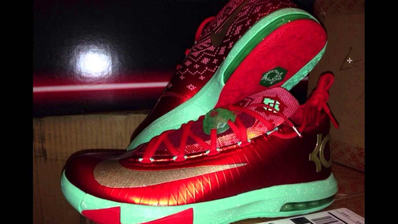 Red And Green Christmas Shoes