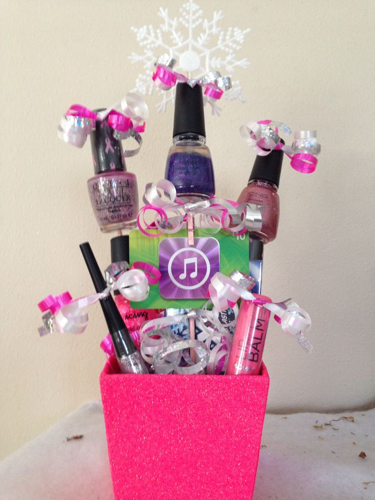 Best Gift Ideas For 13 Year Old Girls: 40 Best Christmas Gift Basket Decoration Ideas