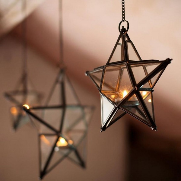 9 - Christmas Star Decorations