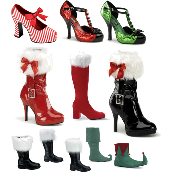 Christmas Shoes Heels