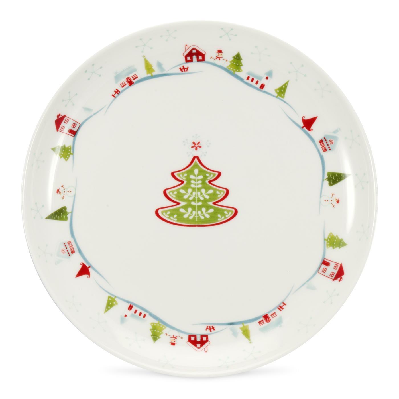 1 - Christmas Plates
