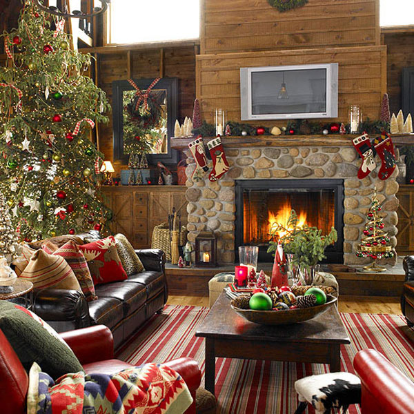 Christmas Room Decorations 40 fantastic living room christmas decoration ideas - all about