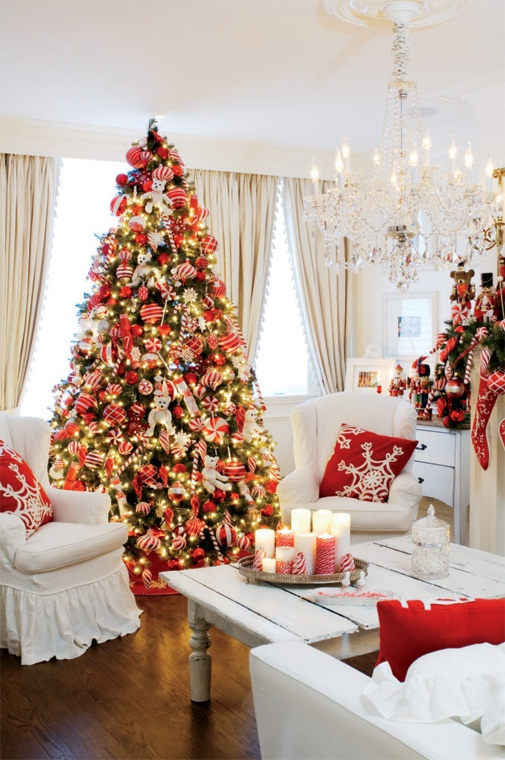 Apartment Christmas Decorations Indoor.40 Fantastic Living Room Christmas Decoration Ideas All
