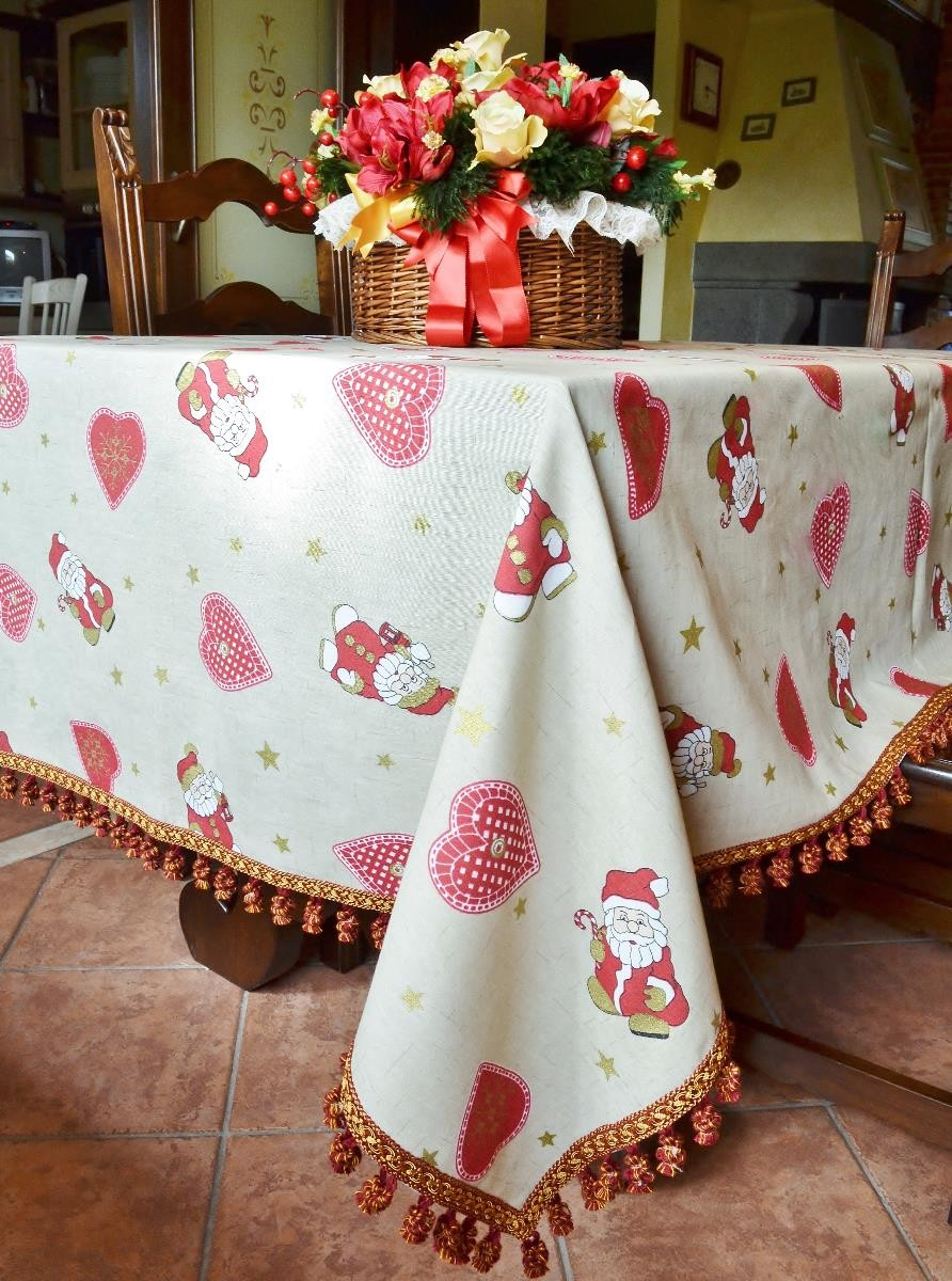 40 Awesome Christmas Table Cloth decoration Ideas - All About ...