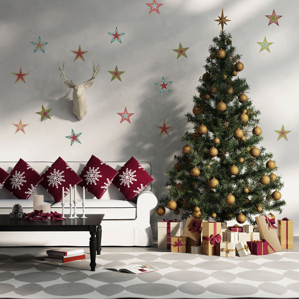 40 fantastic living room christmas decoration ideas all for Christmas decor ideas for living room