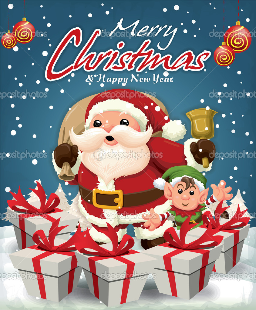 40 appealing christmas poster designing ideas