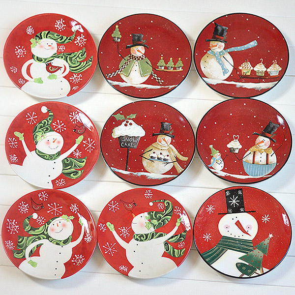 40 Fabulous Christmas Plates For This Season - All About Christmas