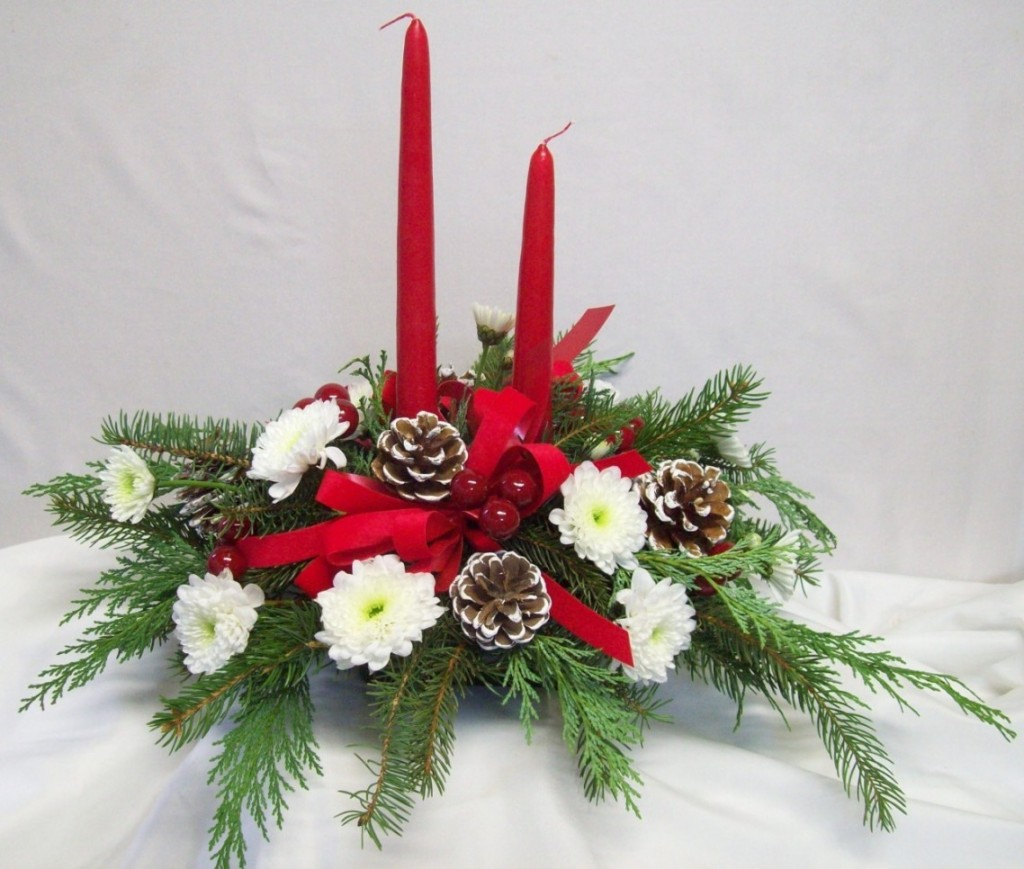 3 - Christmas Flower Decorations