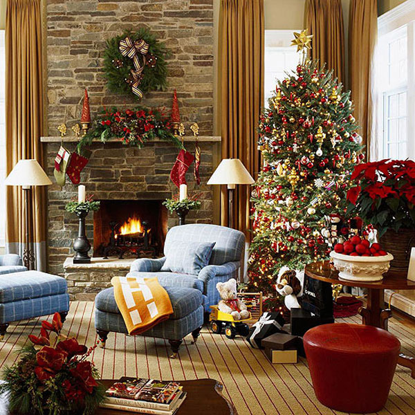 Christmas Interior Decorations Awesome 40 Fantastic Living Room Christmas  Decoration Ideas All About . Inspiration