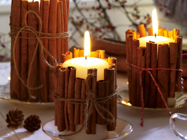 4 - Christmas Candle Decorations