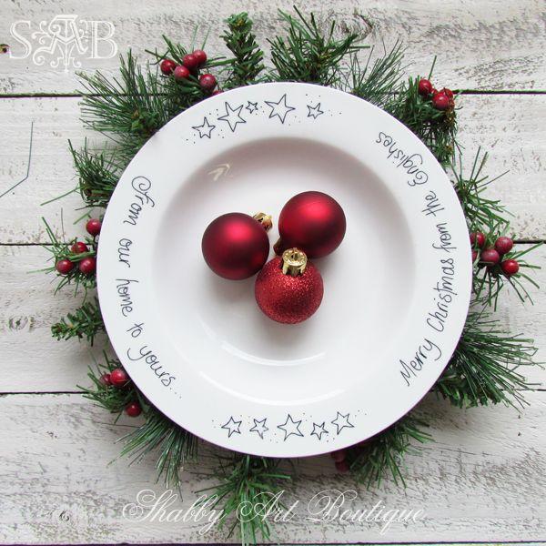 40 Fabulous Christmas Plates For This Season - All About Christmas