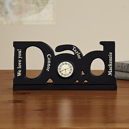 dad clock christmas gift ideas for dad
