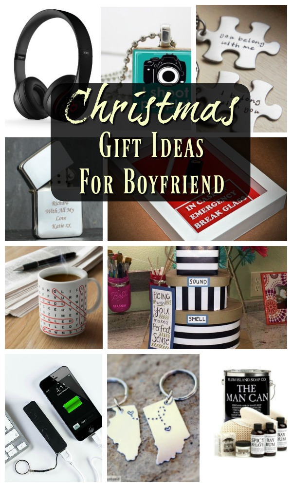 Gifts ideas for boyfriend for christmas